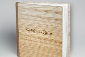 SkyBook Studio Photobook Wood Standard Graviranje