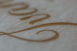 SkyBook Studio Standard Wood Box Graviranje