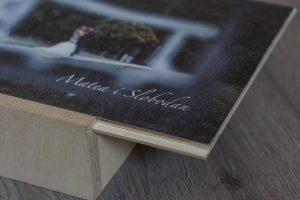 SkyBook Studio Standard Wood Box Graviranje UV Print